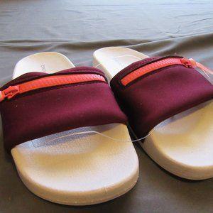 Womens Cynthia Rowley Slides Sandals Sz 6